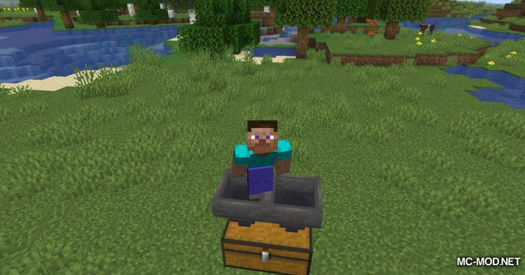 Player Succ mod for Minecraft (5)