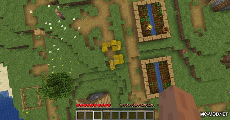 Softer Hay Bales mod for Minecraft (3)