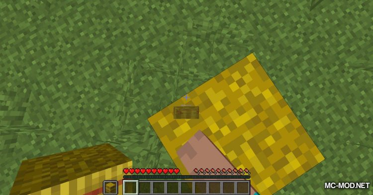 Softer Hay Bales mod for Minecraft (8)