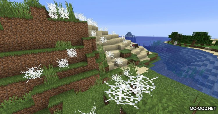 Spiders Produce Webs mod for Minecraft (3)