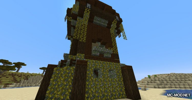 Structure Generator mod for Minecraft (11)
