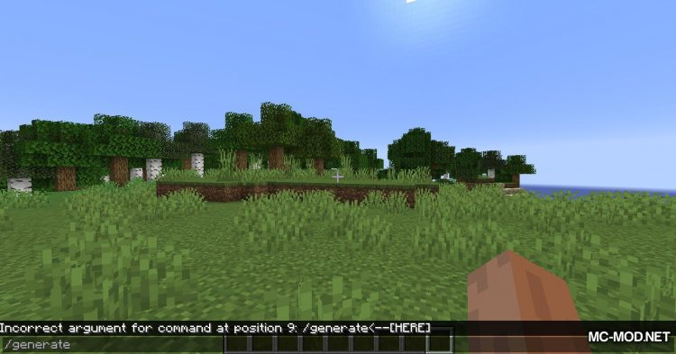Structure Generator mod for Minecraft (3)
