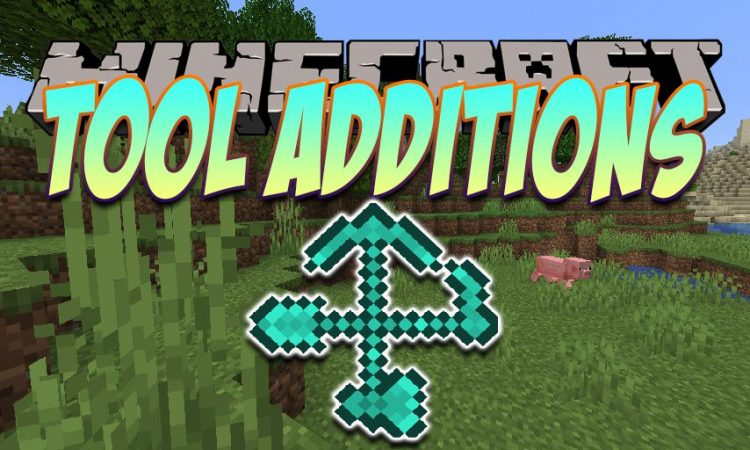 Tool Additions mod for Minecraft logo