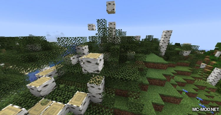 Yet Another ChopDown Mod mod for Minecraft (10)