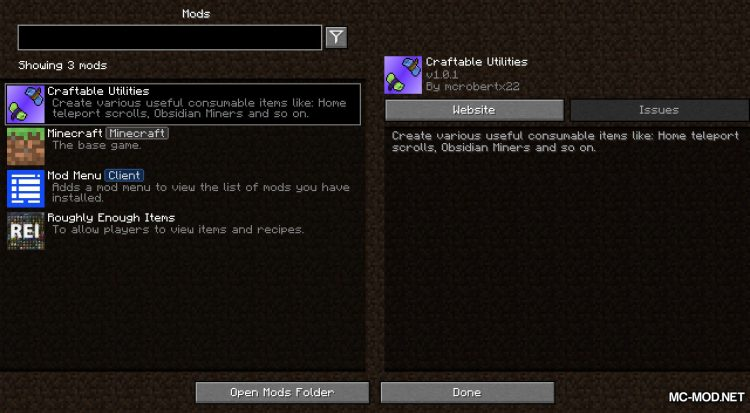 Library of Exile mod for Minecraft (1)