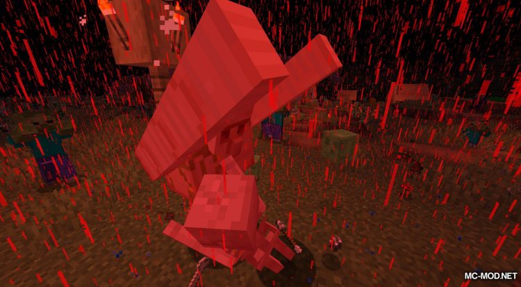 Crimson Moon mod for Minecraft (13)