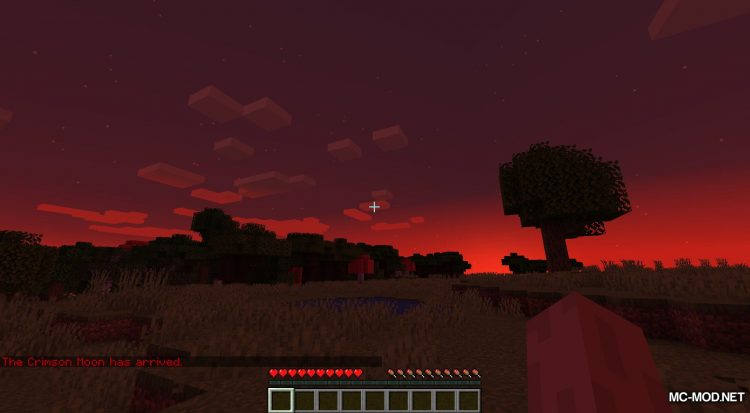 Crimson Moon mod for Minecraft (5)
