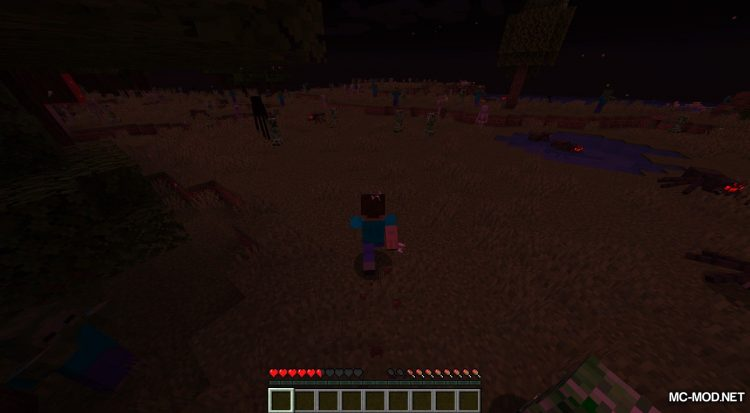 Crimson Moon mod for Minecraft (7)