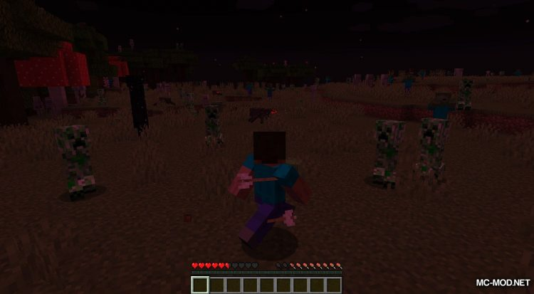 Crimson Moon mod for Minecraft (8)