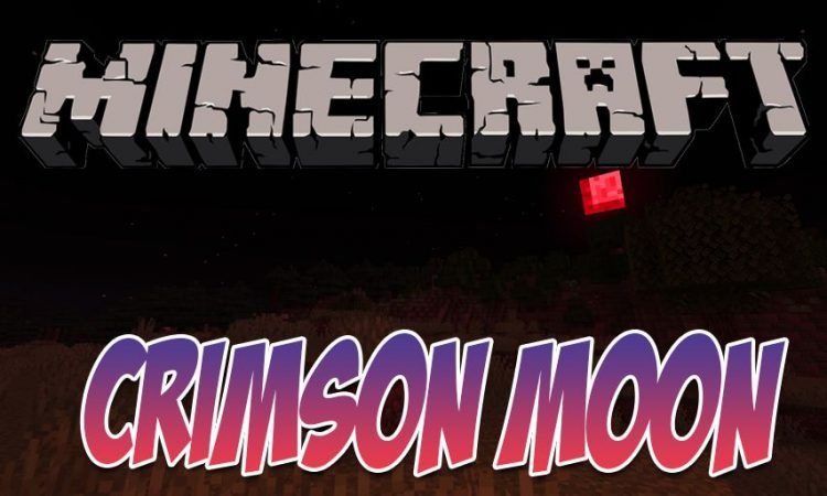 Crimson Moon mod for Minecraft logo