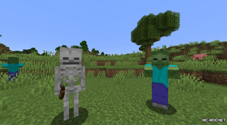 Daylight Mobs mod for Minecraft (12)
