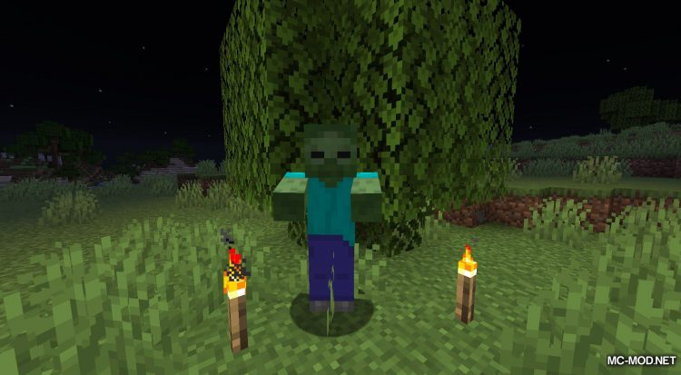 Daylight Mobs mod for Minecraft (2)