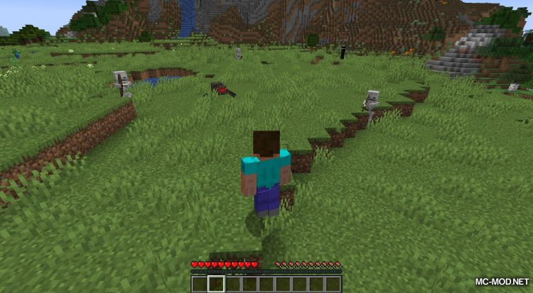 Daylight Mobs mod for Minecraft (4)