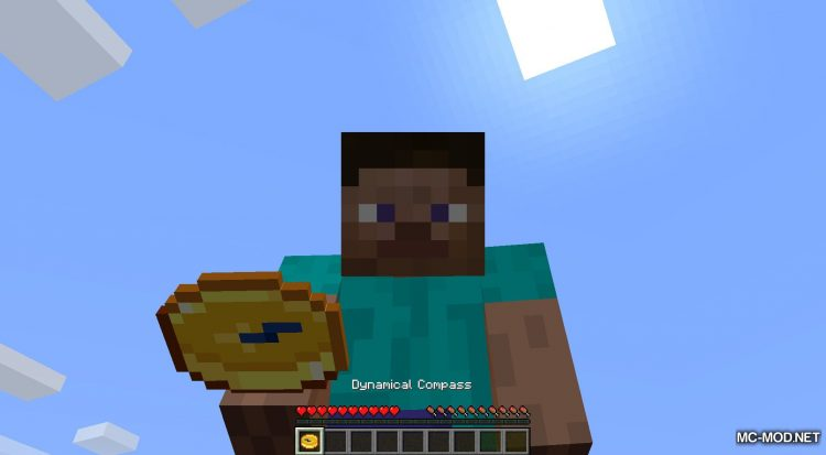 Dynamical Compass mod for Minecraft (2)