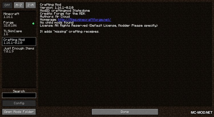 Everything Craftable mod for Minecraft (1)
