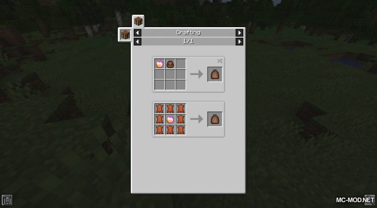 Food Pouches mod for Minecraft (11)