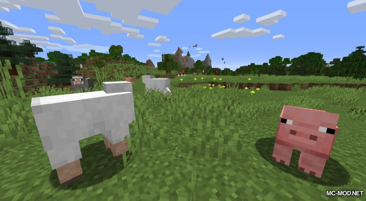 Gentle Fawn mod for Minecraft (2)