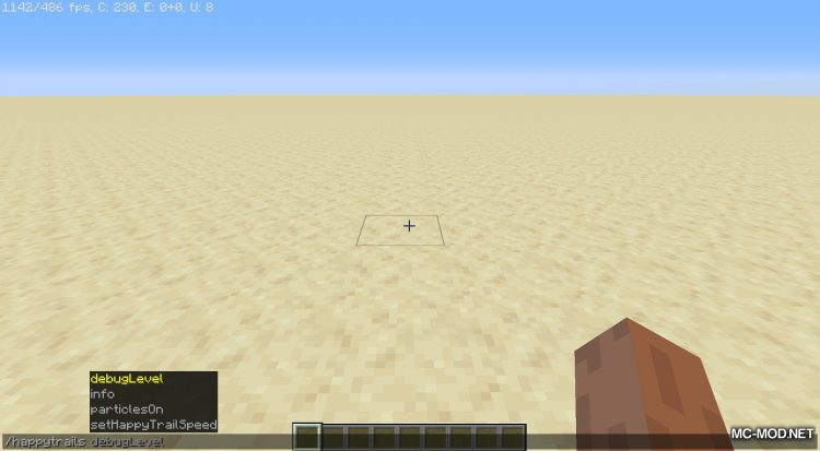 Happy Trails mod for Minecraft (10)