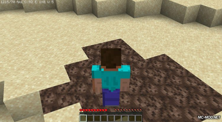Happy Trails mod for Minecraft (14)