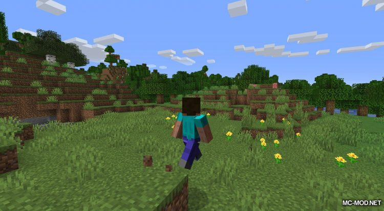Happy Trails mod for Minecraft (3)