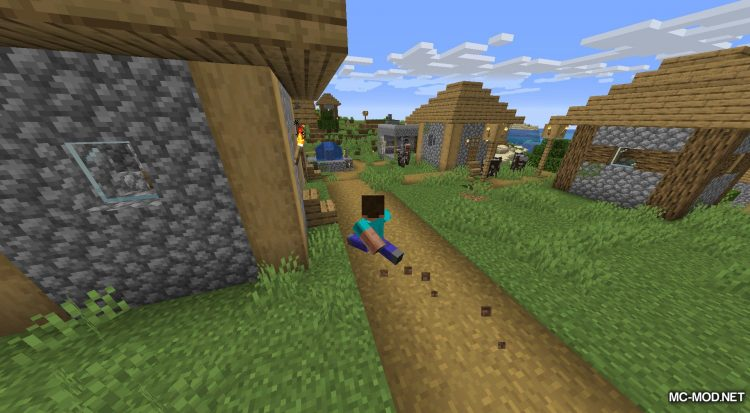 Happy Trails mod for Minecraft (5)