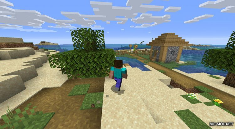Happy Trails mod for Minecraft (8)