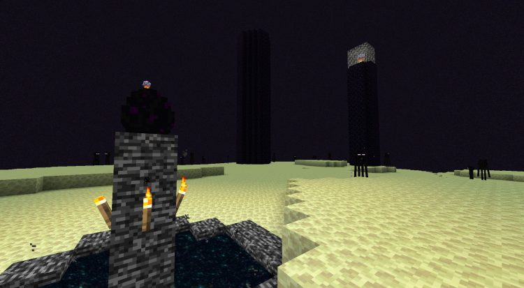 Into The Ω mod for Minecraft (1)
