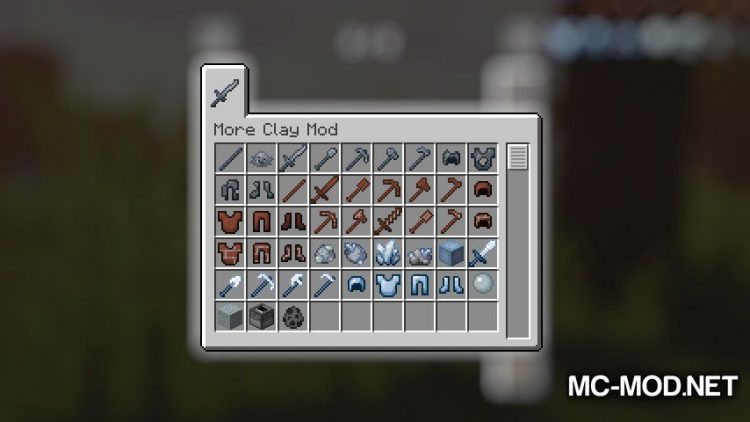 More Clay Mod mod for Minecraft (15)