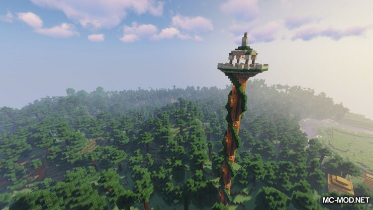 Tower Of The Wild mod for Minecraft (2)