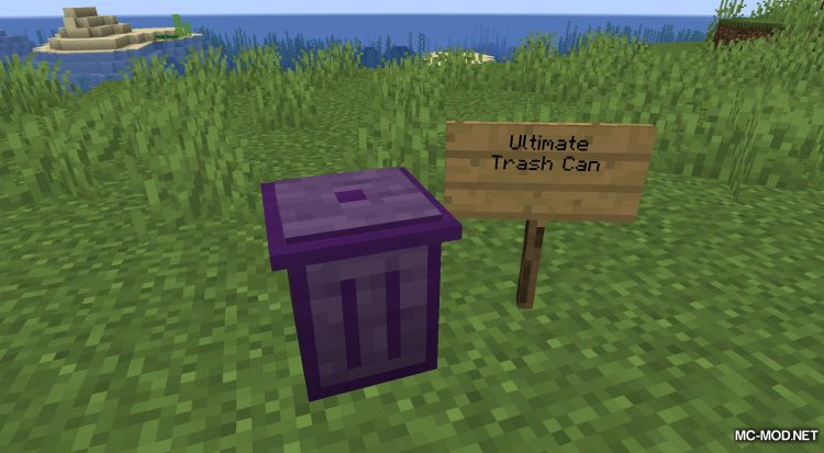 Trash Cans mod for Minecraft (13)