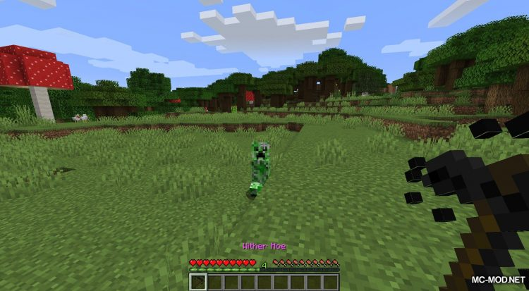 Wither Hoe Mod mod for Minecraft (10)