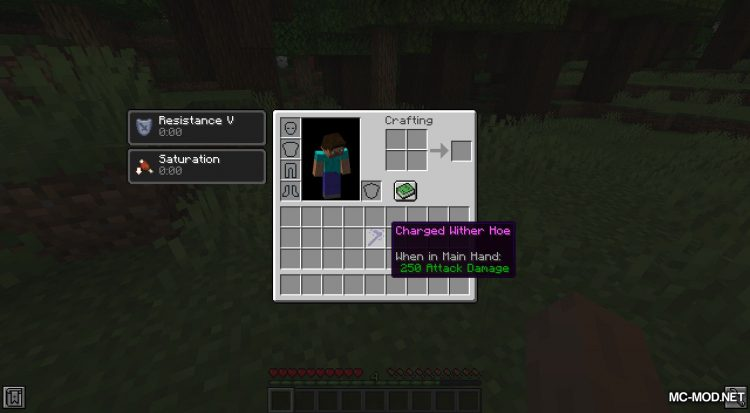 Wither Hoe Mod mod for Minecraft (14)