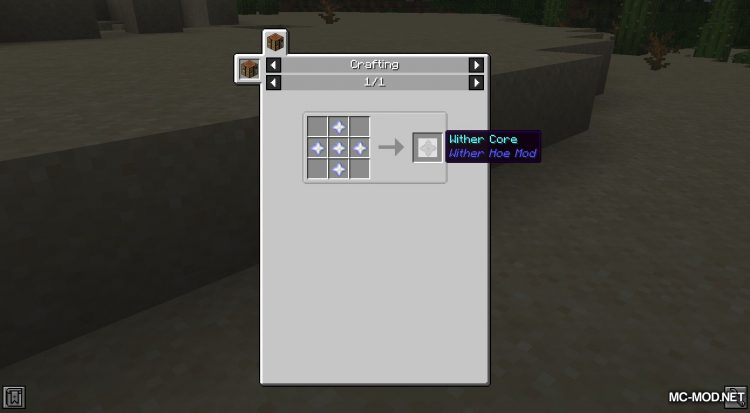 Wither Hoe Mod mod for Minecraft (4)