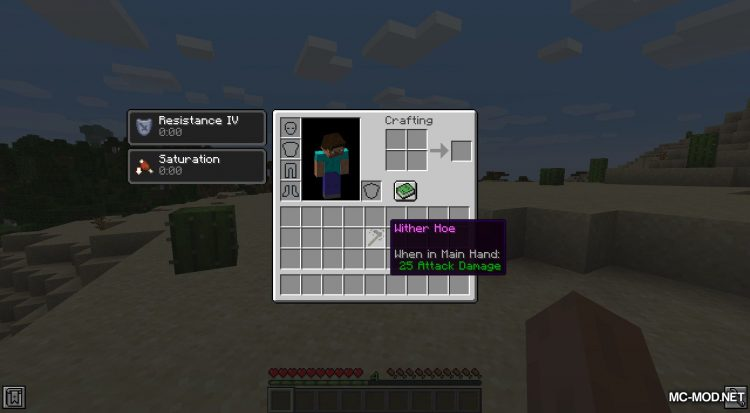 Wither Hoe Mod mod for Minecraft (6)