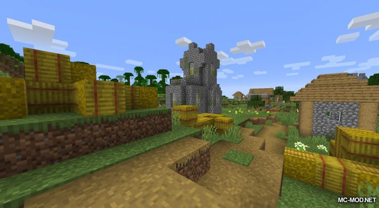 AC Hay Bales mod for Minecraft (12)