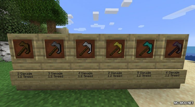 AdaPaxels mod for Minecraft (16)