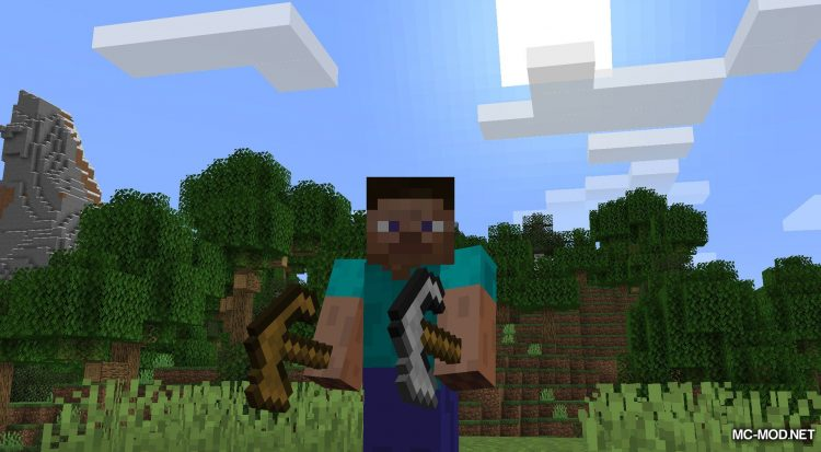 AdaPaxels mod for Minecraft (3)