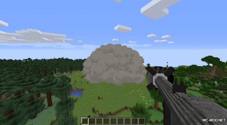 Atomic Explosion mod for Minecraft (10)