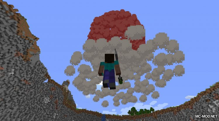 Atomic Explosion mod for Minecraft (18)