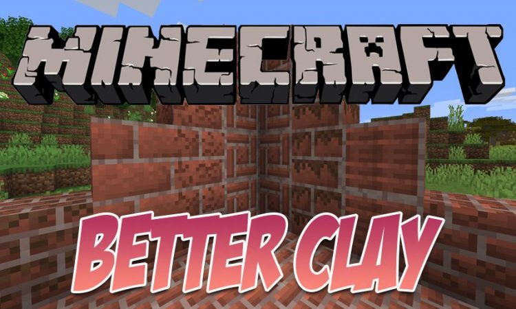 Better Clay mod for Minecraft logo