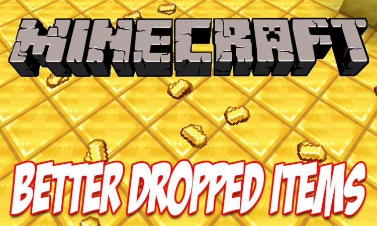 Better Dropped Items mod for Minecraft logo