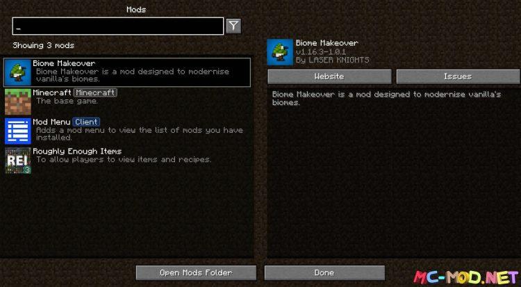 Biome Makeover mod for Minecraft (1)_compressed