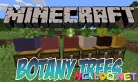 Botany Trees mod for Minecraft logo_compressed