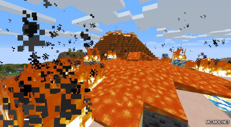 Lava Dynamics mod for Minecraft (10)