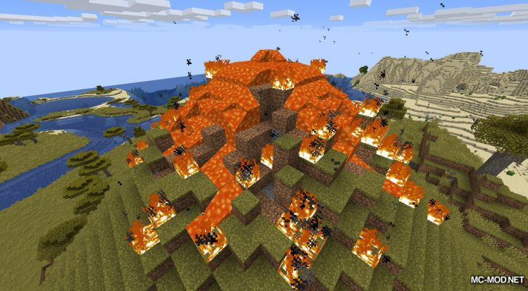 Lava Dynamics mod for Minecraft (3)