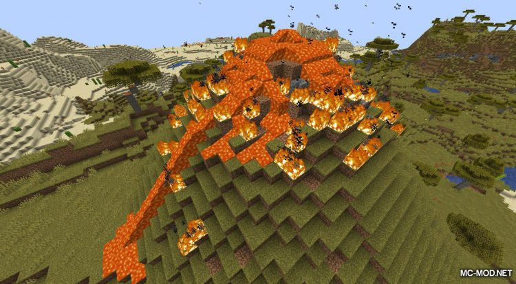 Lava Dynamics mod for Minecraft (4)