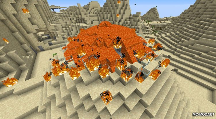 Lava Dynamics mod for Minecraft (5)