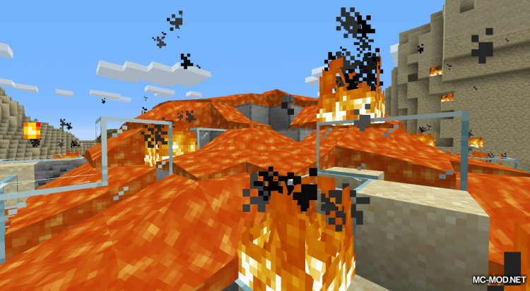 Lava Dynamics mod for Minecraft (6)