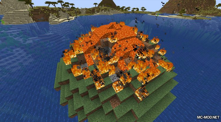 Lava Dynamics mod for Minecraft (7)