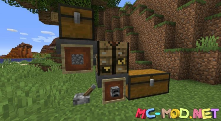 Low Tech Crafting mod for Minecraft (9)_compressed